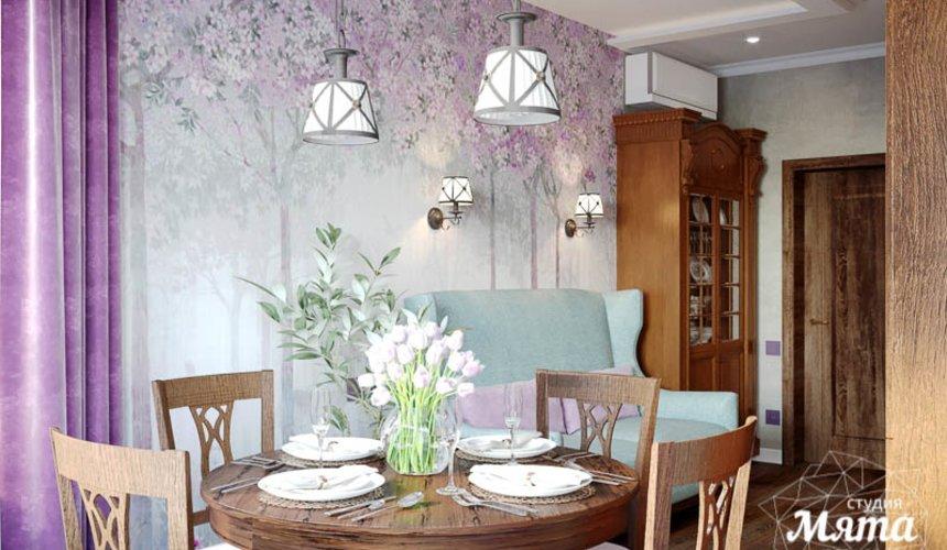 Дизайн интерьера кухни в коттедже п. Верхнее Дуброво 7