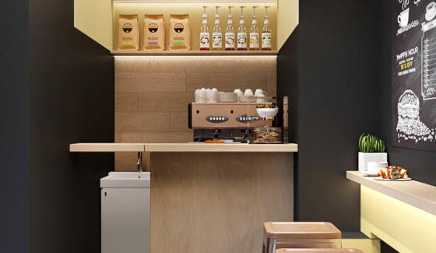 Дизайн интерьера кофейни Кофе с собой 3