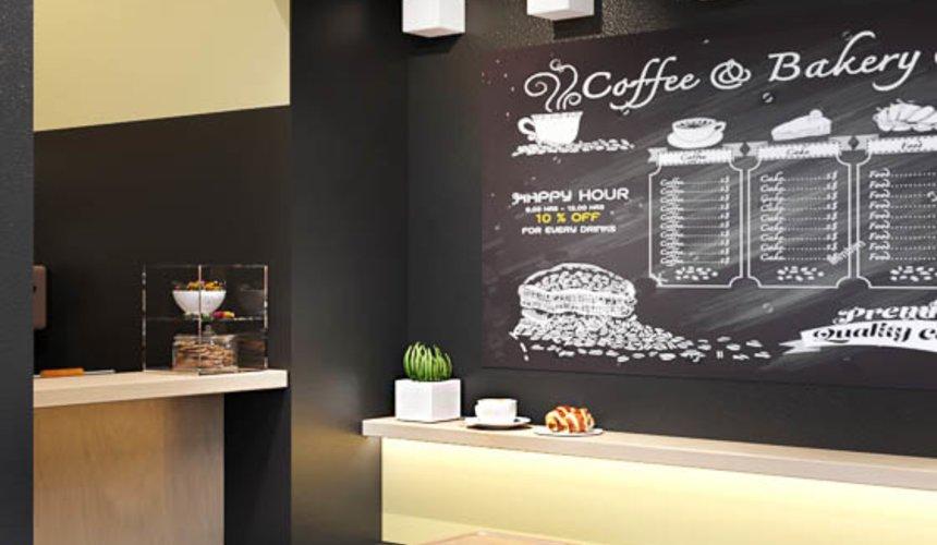 Дизайн интерьера кофейни Кофе с собой 5