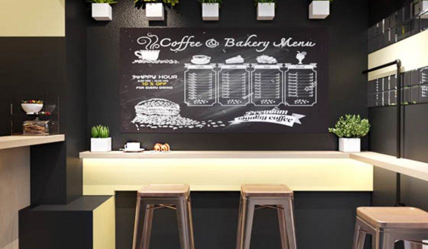 Дизайн интерьера кофейни Кофе с собой 6