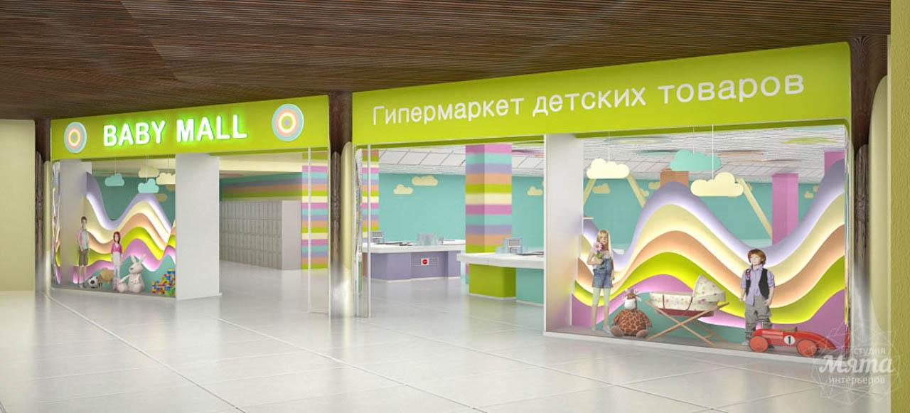дизайн интерьера магазина косметики