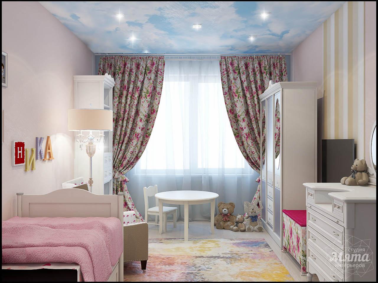 современная идея комнаты для девочки
