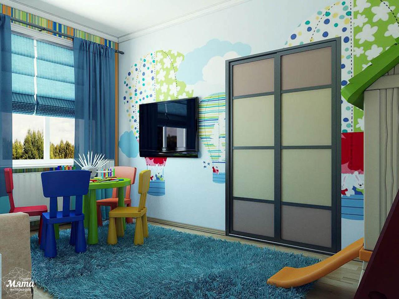 комната для мальчика стиль оформления