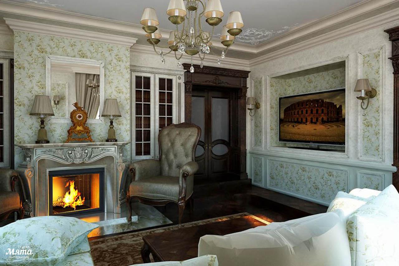 гостиная в английском стиле фото интерьер