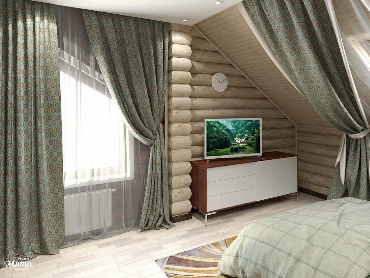 деревянный дом отделка внутри