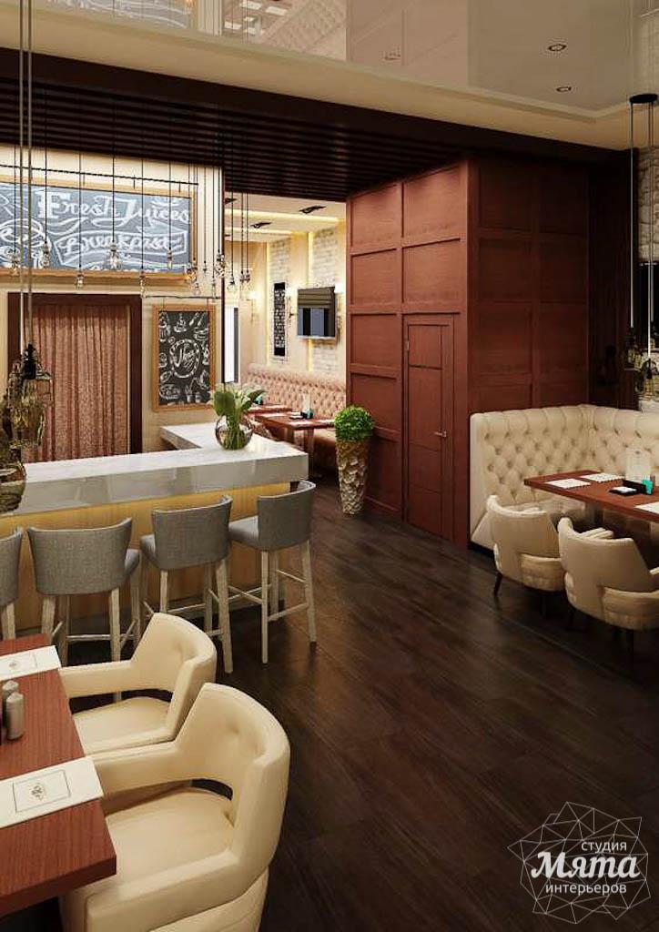 Дизайн интерьера кафе по ул. Малышева 12 img1042563390