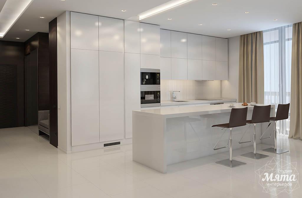 дизайн интерьера кухни минимализм