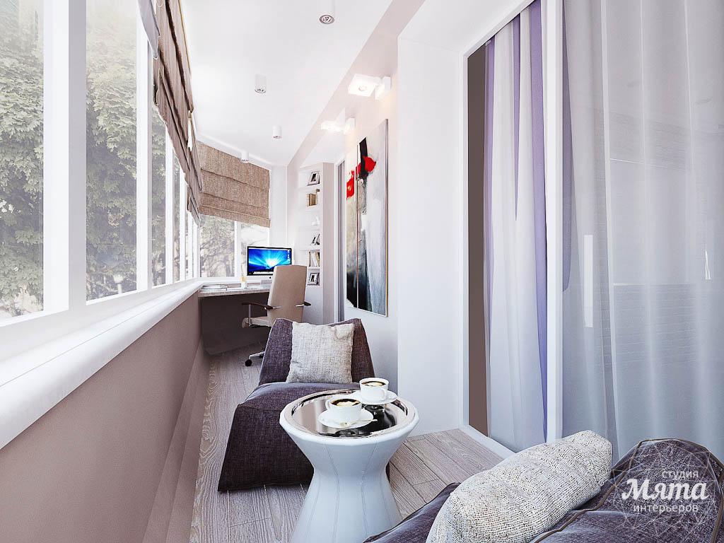 Дизайн открытого балкона фото