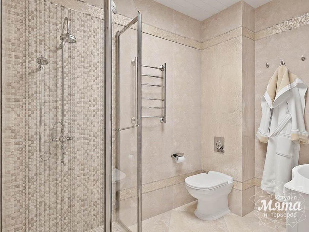 дизайн ванн с душевой кабиной
