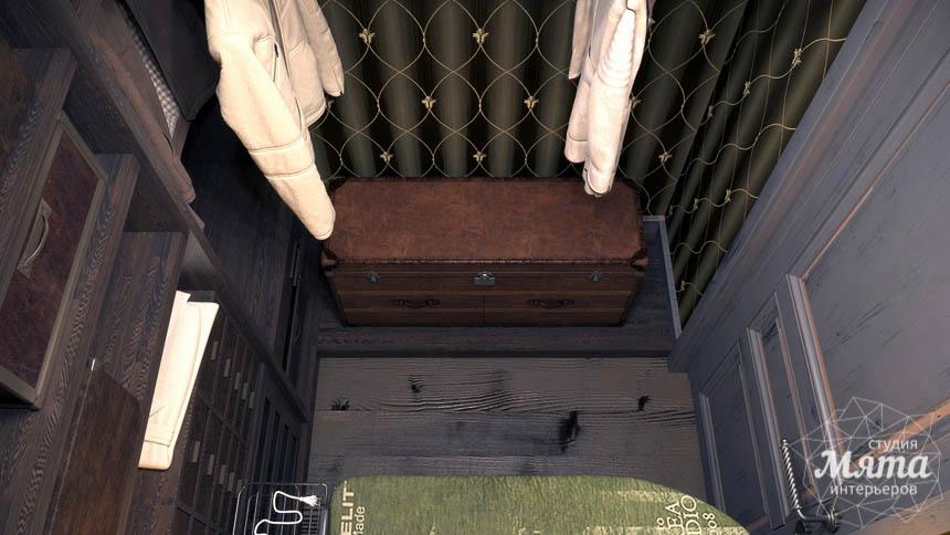 Современная гардеробная интерьер