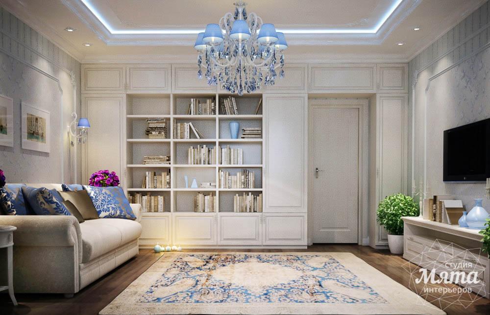 стиль неоклассика в интерьере квартиры