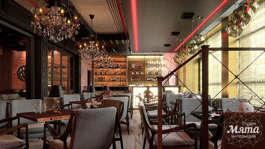 Дизайн интерьера кафе в Сочи  img2004753041