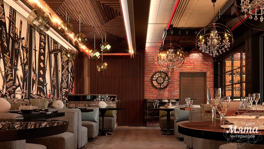 Дизайн интерьера кафе в Сочи  img1834113636