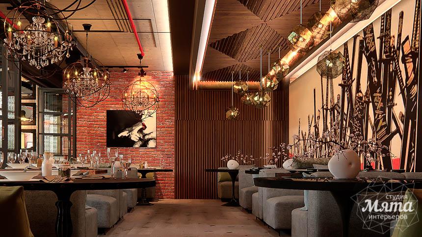Дизайн интерьера кафе в Сочи  img2132123589