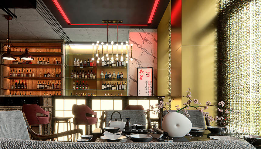 Дизайн интерьера кафе в Сочи  img1070634180