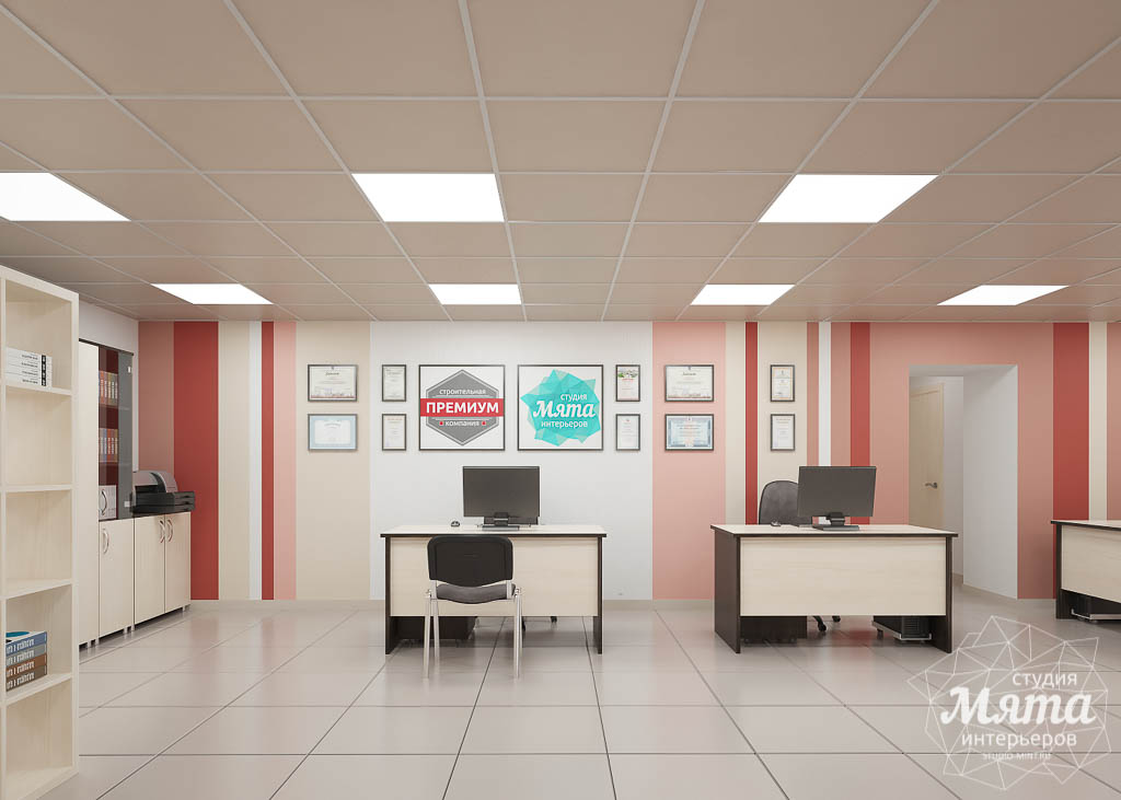 дизайн офисного интерьера фото