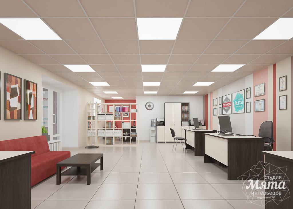 разработке дизайна офиса
