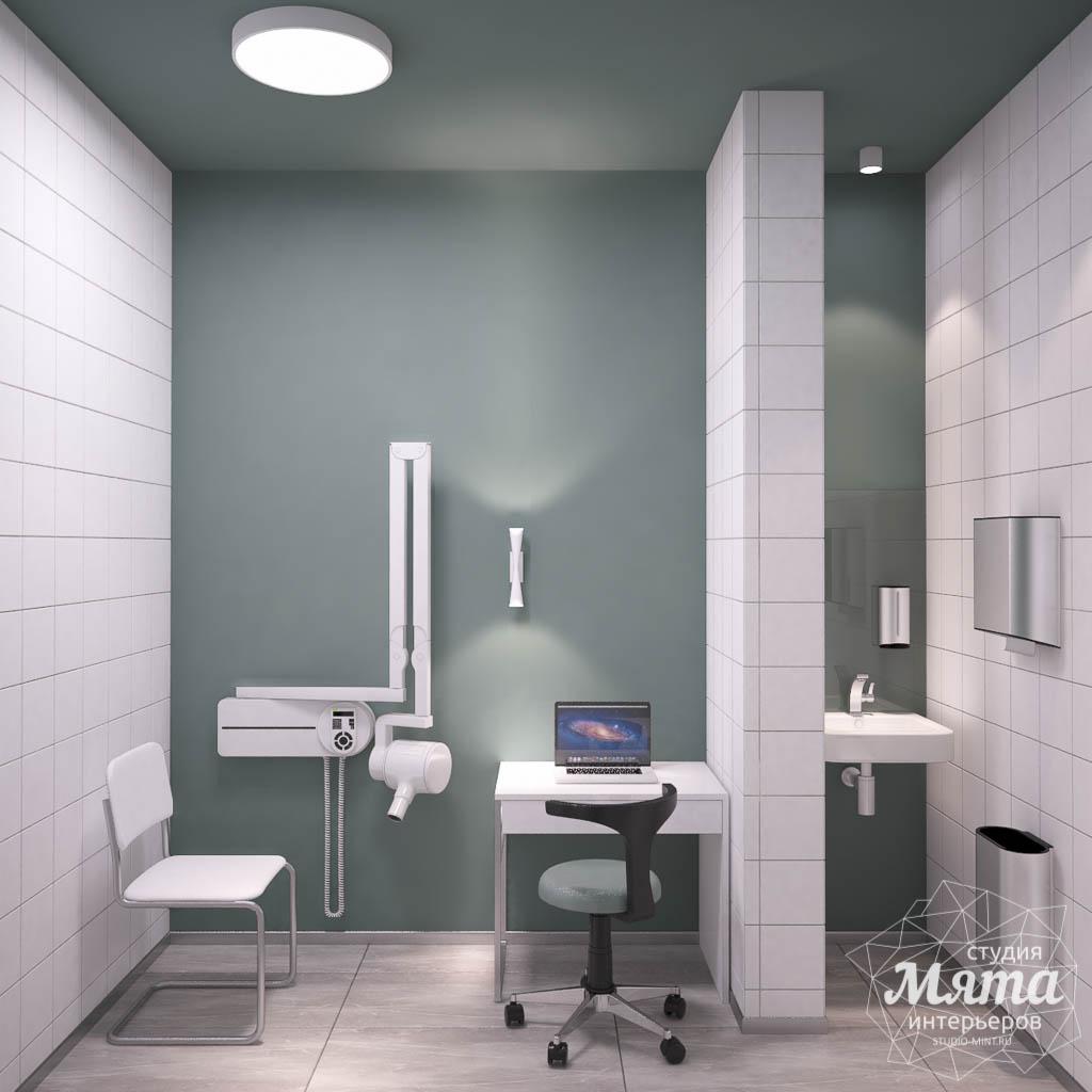 Дизайн интерьера и ремонт стоматологической клиники в ЖК Лига Чемпионов 10