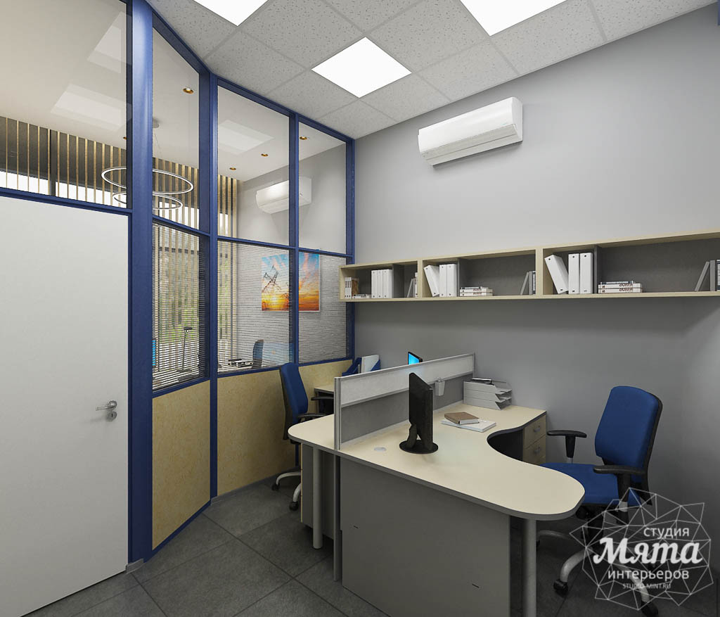 Дизайн интерьера офиса по ул. Чкалова 231 img2023667127