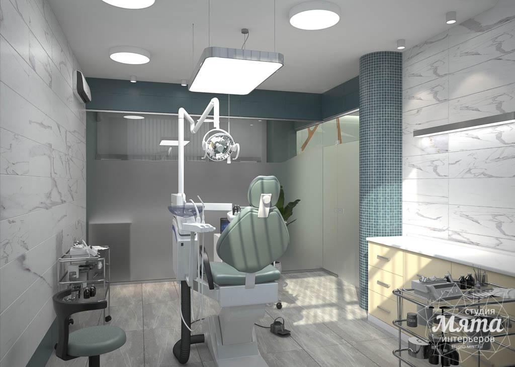 Дизайн интерьера и ремонт стоматологической клиники в ЖК Лига Чемпионов 2
