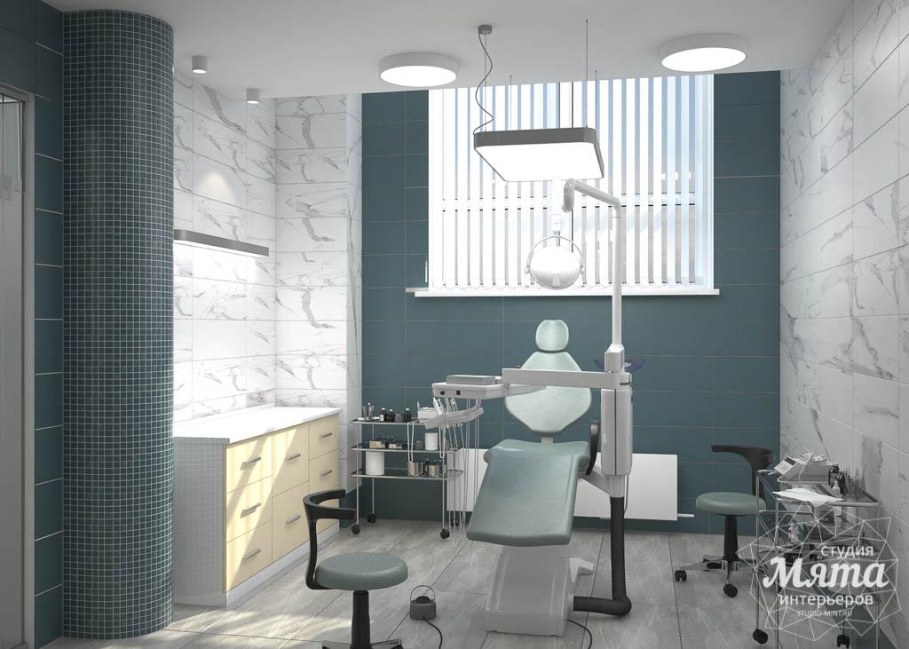 Дизайн интерьера и ремонт стоматологической клиники в ЖК Лига Чемпионов 3