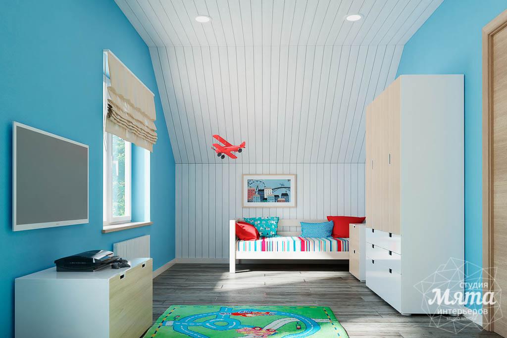 современный стиль комнаты для мальчика фото