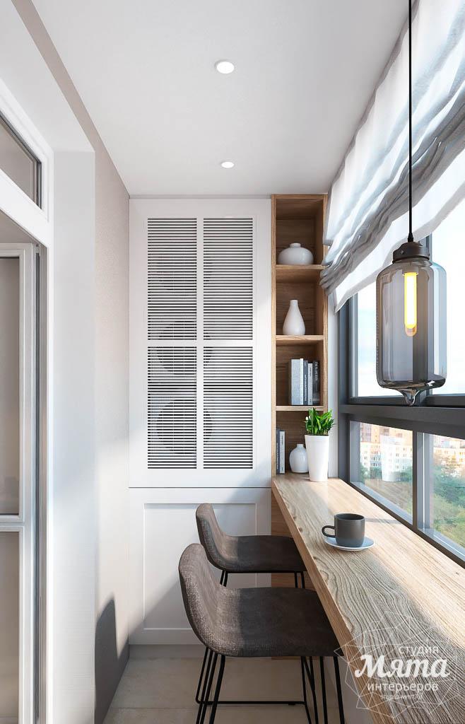 Стиль дизайна балкона