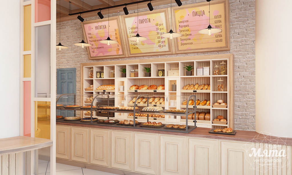Дизайн интерьера пекарни Сдобная Сказка img785018274