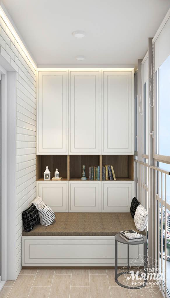 Дизайн интерьера гостиной и санузлов четырехкомнатной квартиры в ЖК Флагман img742111155