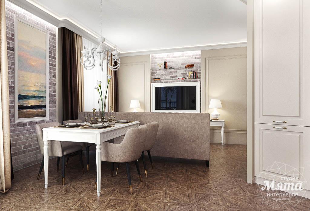 Дизайн интерьера гостиной и санузлов четырехкомнатной квартиры в ЖК Флагман img181722790