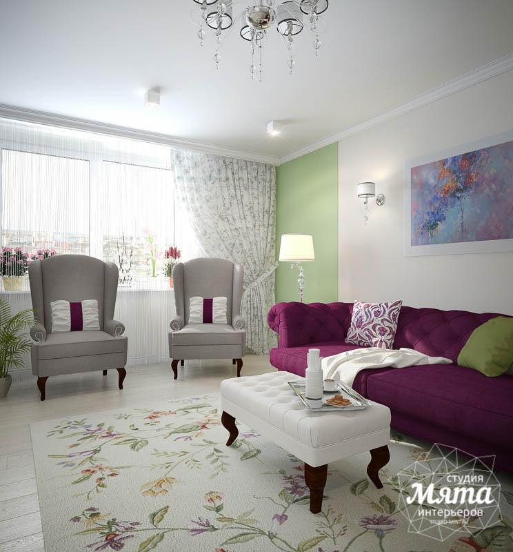 Дизайн интерьера четырехкомнатной квартиры по ул. Блюхера 41 img2020689010
