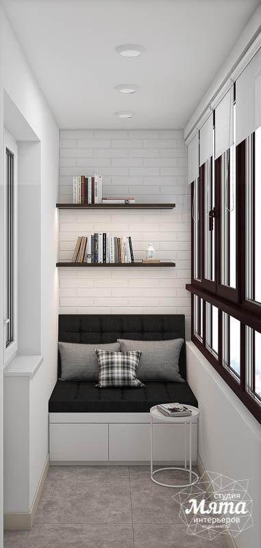 Дизайн балкона современный
