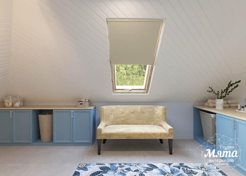 Дизайн интерьера коттеджа в г. Асбест 31