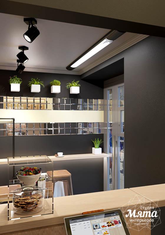Дизайн интерьера мини-кофейни по ул. Большакова 107 4