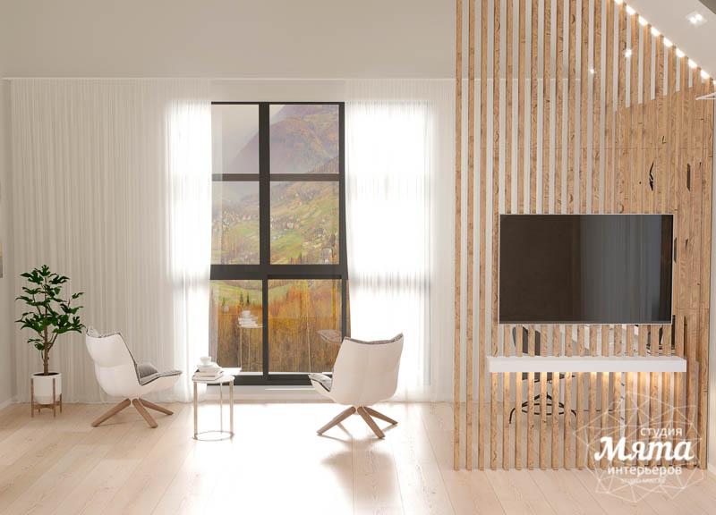 Дизайн интерьера гостиной в коттедже в г. Алапаевск 7