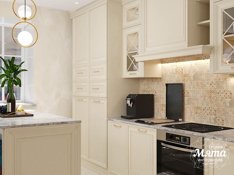 Дизайн интерьера квартиры в стиле современной классики в ЖК Вивальди img2053939670