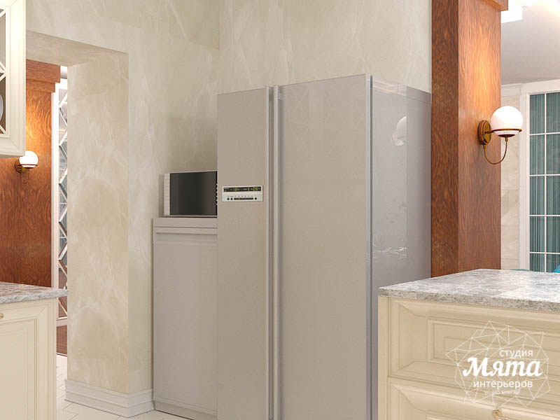 Дизайн интерьера квартиры в стиле современной классики в ЖК Вивальди img1240268074