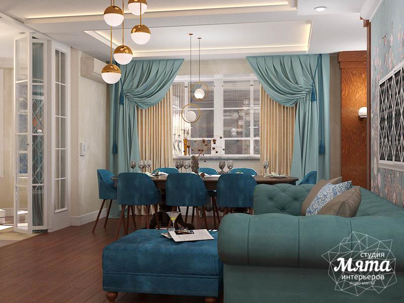 Дизайн интерьера квартиры в стиле современной классики в ЖК Вивальди img2089029418