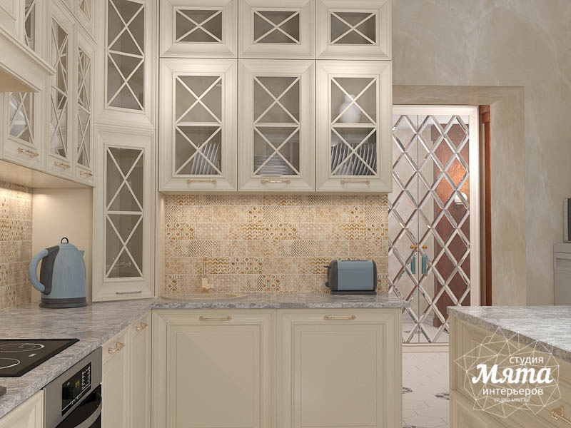 Дизайн интерьера квартиры в стиле современной классики в ЖК Вивальди img251844286