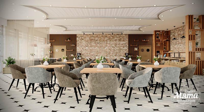 Дизайн интерьера ресторана термального комплекса Акварель г. Туринск 6