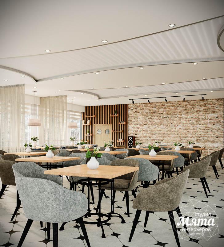 Дизайн интерьера ресторана термального комплекса Акварель г. Туринск 9