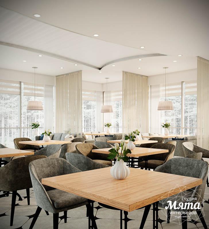 Дизайн интерьера ресторана термального комплекса Акварель г. Туринск 11
