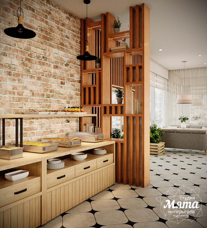 Дизайн интерьера ресторана термального комплекса Акварель г. Туринск 13