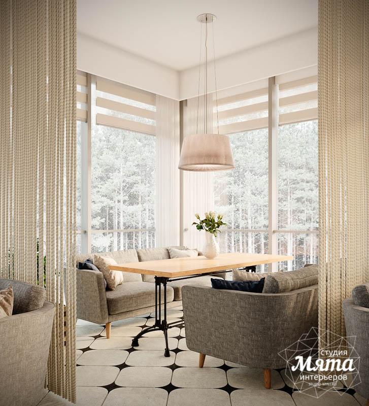 Дизайн интерьера ресторана термального комплекса Акварель г. Туринск 15
