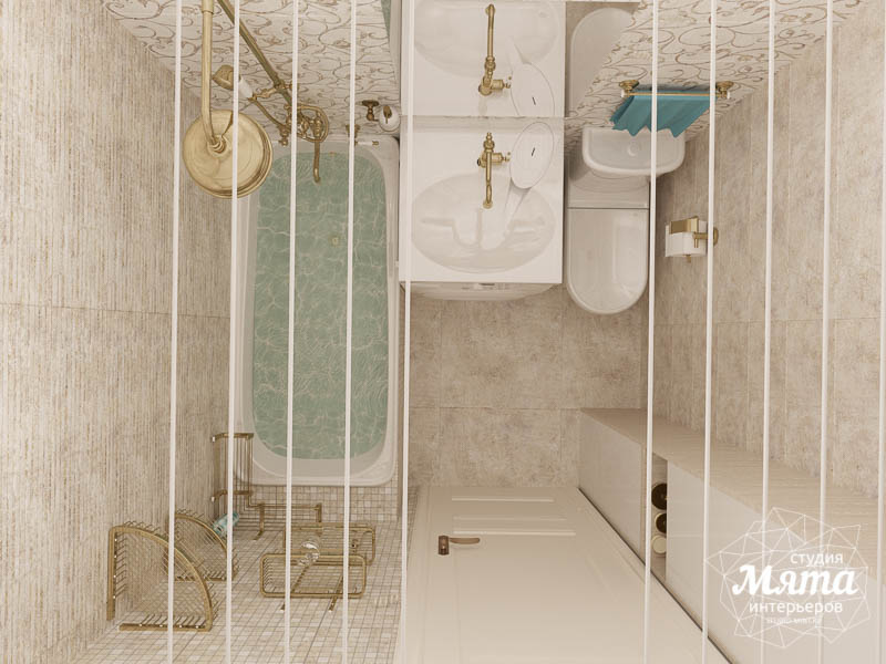Дизайн интерьера двухкомнатной квартиры по ул. Шаумяна 109 28