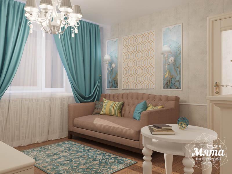 Дизайн интерьера двухкомнатной квартиры по ул. Шаумяна 109 4