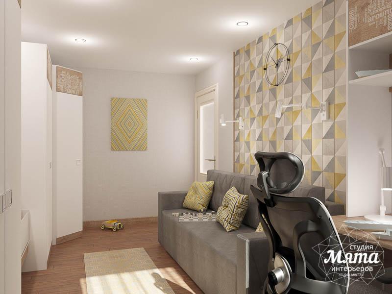 Дизайн интерьера двухкомнатной квартиры по ул. Шаумяна 109 22