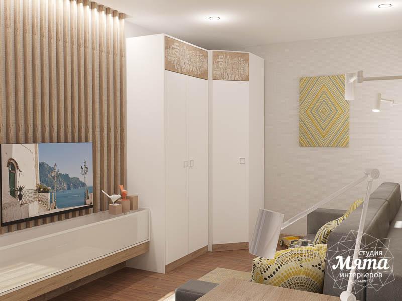 Дизайн интерьера двухкомнатной квартиры по ул. Шаумяна 109 26