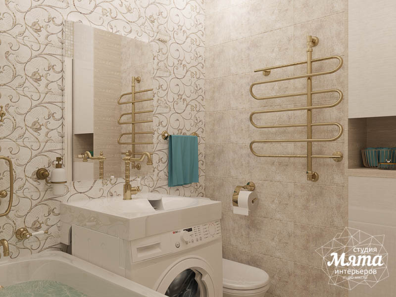 Дизайн интерьера двухкомнатной квартиры по ул. Шаумяна 109 31