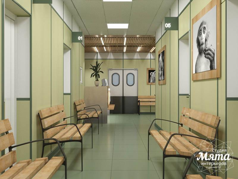 Дизайн интерьера ветеринарной станции г. Екатеринбурга 2